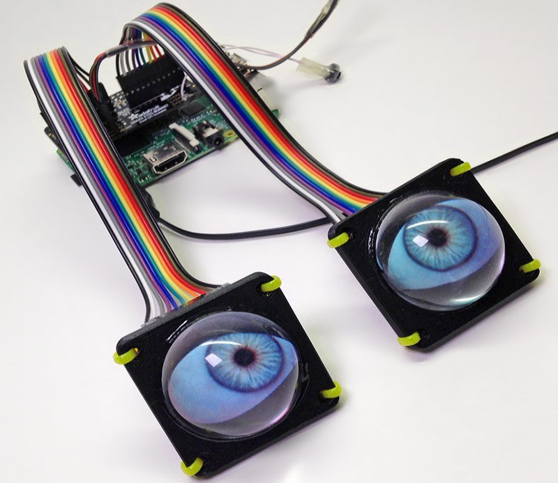 The project of Phil Burgess for maker faire festival