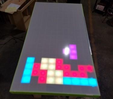 A gigantic Tetris project on Maker Faire festival